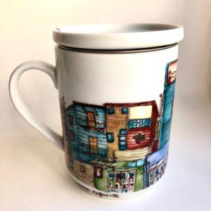 La Boca – Buenos Aires infuser mug side view